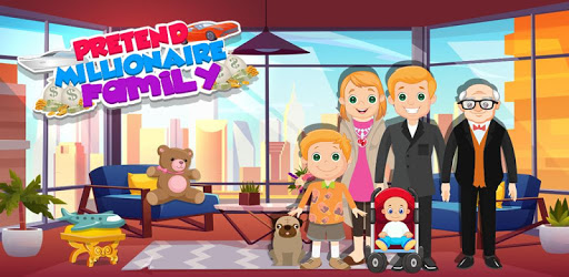 Pretend Play My Millionaire Family Villa Fun Game apk