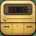 Marshall - Dark Retro Gold/Metal Poweramp V3 Skin Icon