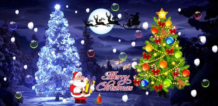 Santa Christmas Snowfall Live apk