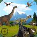 Super Deadly Dino Jungle Hunter Action War Game Icon