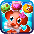 Hungry Pet Mania - Match 3 Gems Game Icon