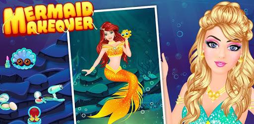 Royal Mermaid Princess Beauty Salon Makeover game apk
