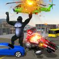Incredible Monster Gorilla Rampage: Animal Games Icon