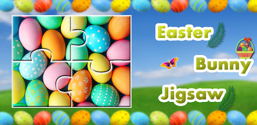 Easter Bunny Egg Jigsaw Puzzle Family Game apk