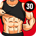 Six Pack 30 Day Workout - Abs Workout Free Icon