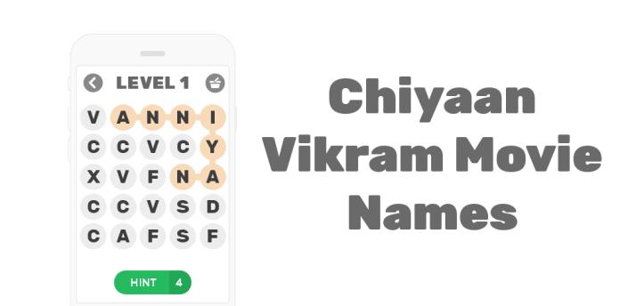 Chiyaan Vikram Movie Names apk