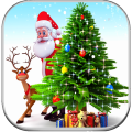 3d Merry Christmas wallpaper 🎅🎄 Icon