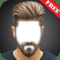 Men Hairstyle Camera Photo Montage Icon