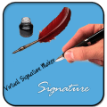 Virtual Signature Maker Icon