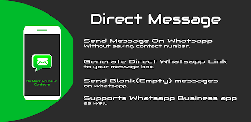 Whats Direct Message - Without saving contact num apk