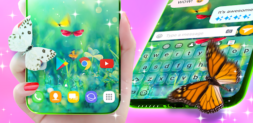 Butterfly Animated Keyboard & Live Wallpaper apk
