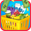 Supermarket Shopping for Kids Icon