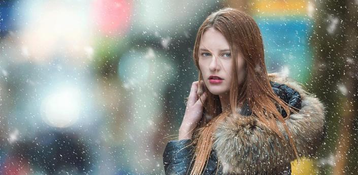 Snowfall Photo Effect apk