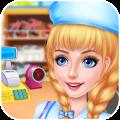 Supermarket Kids Manager FREE - Fun Shopping Game Icon