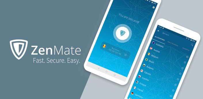 ZenMate VPN - WiFi VPN Security & Unblock apk