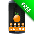 Orange GO Launcher EX Theme Icon