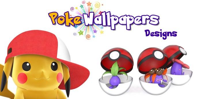 Poke Wallpapers Designs  - Fondos de pantalla apk