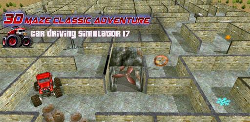 Monster Truck Maze Adventure Fun Games 2019 apk