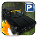 Old Car Parking Icon
