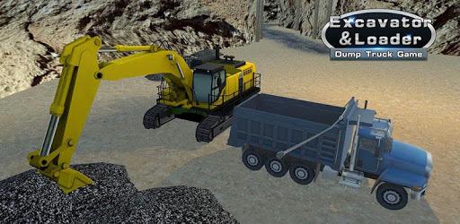 Excavator & Loader: Dump Truck Game apk