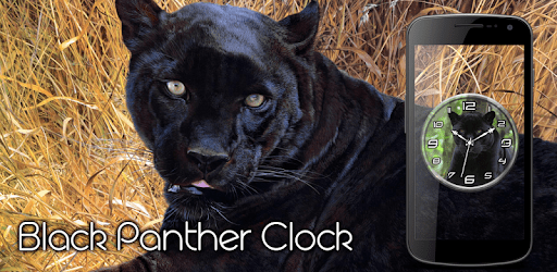 Black Panther Clock Live WP apk