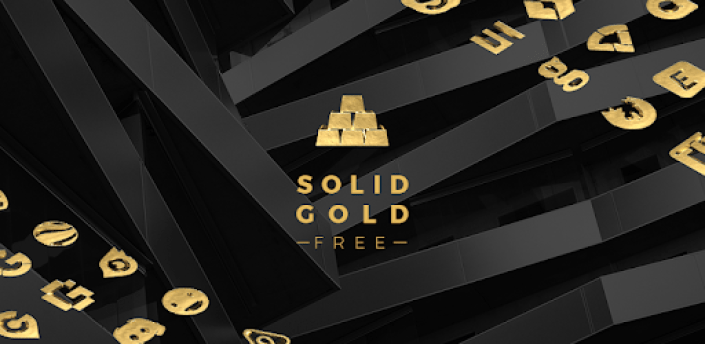 Solid Gold - Icon Pack (Free Version) apk