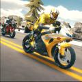 Super 3D Highway Bike Stunt: Motorbike Racing Game Icon