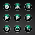 Glossy Emerald Icons Icon