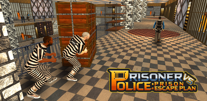 Prisoner Vs Police: Prison Escape Plan apk