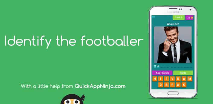 Identify the Footballer apk