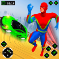 Grand Speed Hero Mega Ramp Car Racing Icon