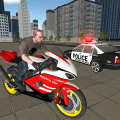 Bike Police Pursuit: Cop Chase & Escape Icon