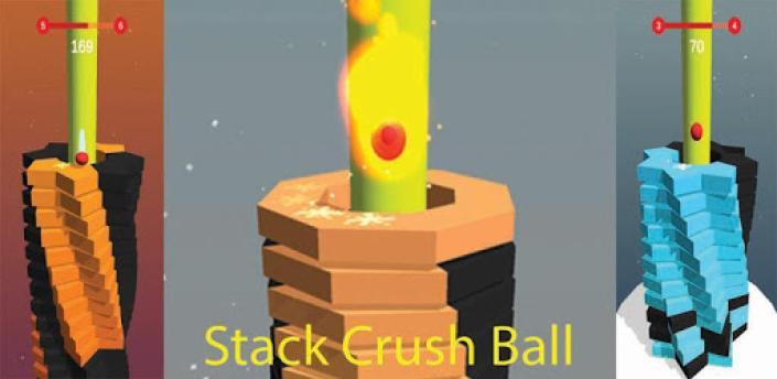 Stack Crush ball – bounce through helix! apk