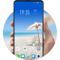 Theme for Y15 HD Beach Sun Wallpaper Icon