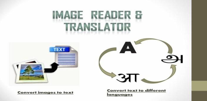 Image reader & Translator apk