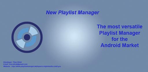 New Playlist Manager apk