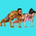 3D Push Ups Home Workout Icon
