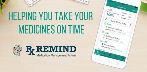 Rxremind - Pill Reminder and Medication Tracker apk
