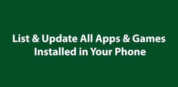 My Apps Updates List - All Apps and Games update apk