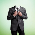 Business Man Photo Suits Editor Icon