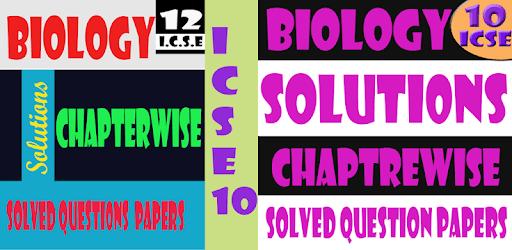 class 10 biology icse solutions apk