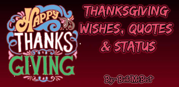 Happy Thanksgiving Day Wishes in English & Cards apk
