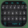 Simple Cool Black Keyboard Theme Icon