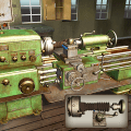 Lathe Machine 3D: Milling & Turning Simulator Game Icon