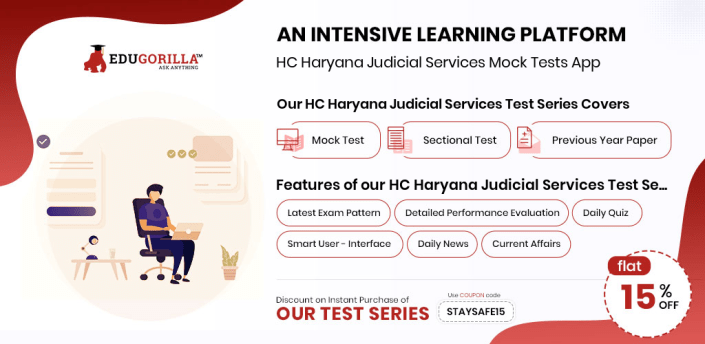 EduGorilla's Haryana Judicial Services Test Series apk