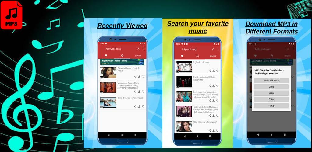 MP3 Youtube Downloader - Audio Player Youtube apk