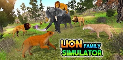 Lion Simulator Family: Animal Survival Games apk