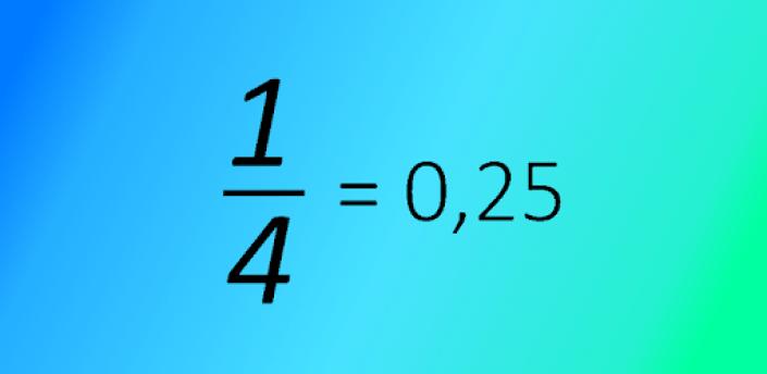 Fraction to Decimal apk