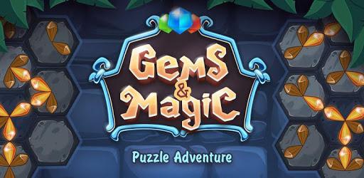 Gems & Magic adventure puzzle apk