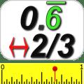 Decimal & Fraction Calculator Icon